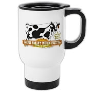 The Ossipee Valley Music Festival Acoustic Cow Travel Mug