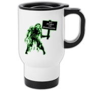 Unemployed Zombie Stuff Travel Mug
