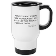 Agreeable  Travel Mug