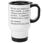 Watch Attack Travel Mug