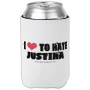 I Love To Hate Justina Can Cooler