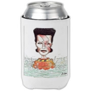 This collectible is a must-have for any David Bowie fan. It's like living Ziggy Stardust all over again.  Available on tees, tops, aprons, mousepads, coasters and much more and only a few dollars above cost; affordable to anyone.  Get yours today.