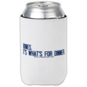 Bones.  It's what's for dinner. Can Cooler