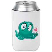 If you like friendly green blobs with tentacles on your beverage conveyance, this product is for you.