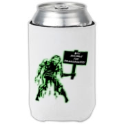 Unemployed Zombie Stuff Can Cooler