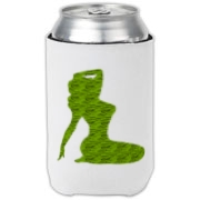 Pin Up Tiger Can Cooler