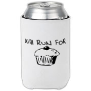 Will Run for Cake Can Cooler