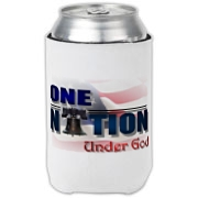 ONE NATION UNDER GOD Can Cooler
