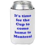You don't have to be a Montreal fan to support them. Sure they have won more Cups than anybody else, but it's not like they are the Yankees. This design is for anybody who is a true fan of hockey.