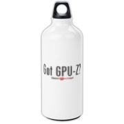 GPUZ! Aluminum Water Bottle