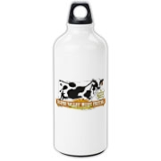 The Ossipee Valley Music Festival Acoustic Cow Aluminum Water Bottle