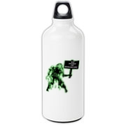 Unemployed Zombie Stuff Aluminum Water Bottle