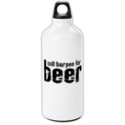 Will Burpee For Beer Aluminum Water Bottle