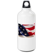 OLD GLORY -  Aluminum Water Bottle