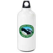 SCLR logo Aluminum Water Bottle