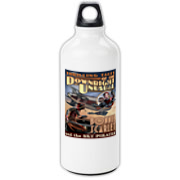A Thrilling Tales of the Downright Unusual classic, Bonnie Scarlet is here to protect the beverage of your choice in this retro-futuristic water bottle.  From the OTHER Sky Pirates, I mean.