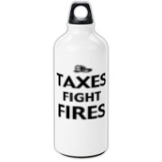 Taxes Fight Fires Aluminum Water Bottle