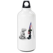 Fallen Soldiers Aluminum Water Bottle