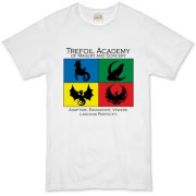 Show your Academy Pride with this shirt bearing the Trefoil Academy logo!