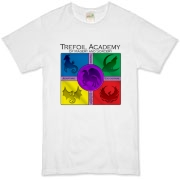 Trefoil Academy emblem on the front.