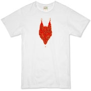 Lavawolf Head Graphic Organic T-Shirt