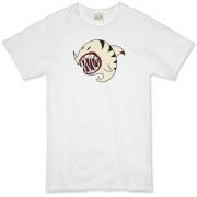 Shark Ball White Organic T-Shirt