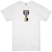 Pennies For Heroes Medal Organic T-Shirt