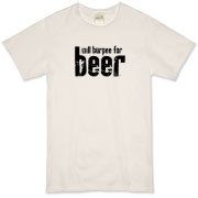 Will Burpee For Beer Organic T-Shirt