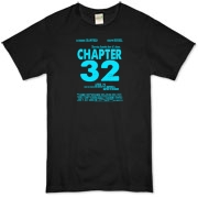 Chapter 32 Movie Poster Organic T-Shirt
