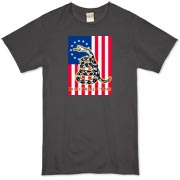 Don't Tread on Me- Revolution (vertical) Organic T