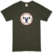 MC State Lift Man (center) Organic T-Shirt