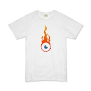 Flaming eye Organic Kids T-Shirt