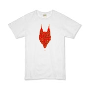 Lavawolf Head Graphic Organic Kids T-Shirt