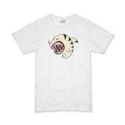 Shark Ball White Organic Kids T-Shirt