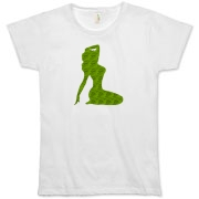 Pin Up Tiger Organic Women's T-Shirt