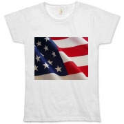 OLD GLORY -  Organic Women's T-Shirt
