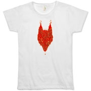 Lavawolf Head Graphic Organic Women's T-Shirt