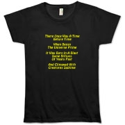 This women's amusing cosmology limerick organic t-shirt gives in rhyme a quick recount of the evolution of the universe, from the Big Bang beginning to the creation of mankind.