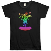 Lava Lamp Rainbow Organic Women's T-Shirt
