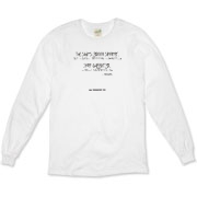 The Shit's Gonna Splatter Organic Long Sleeve T-Sh