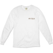 MY RUN - Design - 2  Organic Long Sleeve T-Shirt
