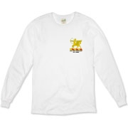 6th Field Artillery - Organic, Light Color, Long Sleeve T-Shirts. Front & Back Insignia. Available in 2 Light Colors.