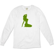 Pin Up Tiger Organic Long Sleeve T-Shirt