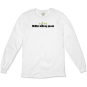 Chillin' With My Peeps Organic Long Sleeve T-Shirt