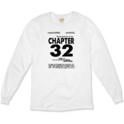 Chapter 32 Movie Poster Organic Long Sleeve T-Shir