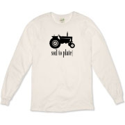 Soil to Plate Organic Long Sleeve T-Shirt