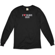 I Love To Hate Tate Organic Long Sleeve T-Shirt