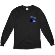 This awesome astronomy long sleeve shirt pocket emblem is perfect for the astronomer who prefers to do his stargazing with a refractor. It says: Astronomer, and has a depiction of a refractor telescope.