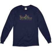 Roots & Sprouts Dark Organic Long Sleeve T-Shirt