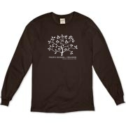 Organic Long Sleeve T-Shirt - Dark Colors